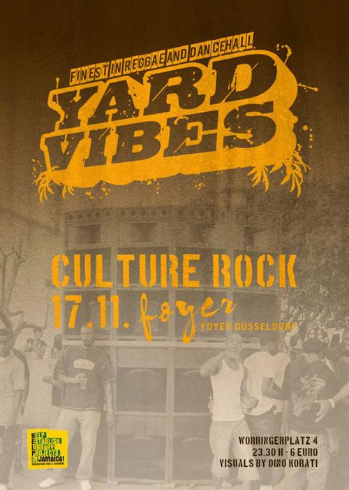Yard Vibes November Poster